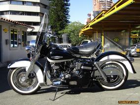 Harley Davidson Shovelhead Police