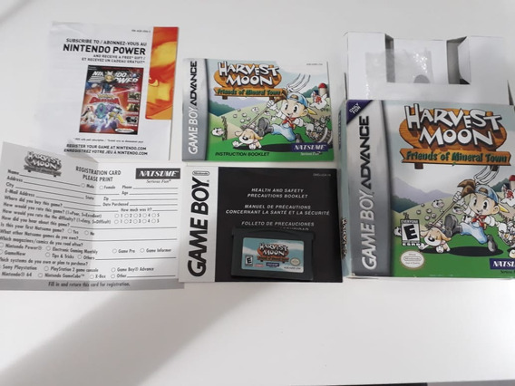 Harvest Moon: Friends Of Mineral Town - Gba - Original