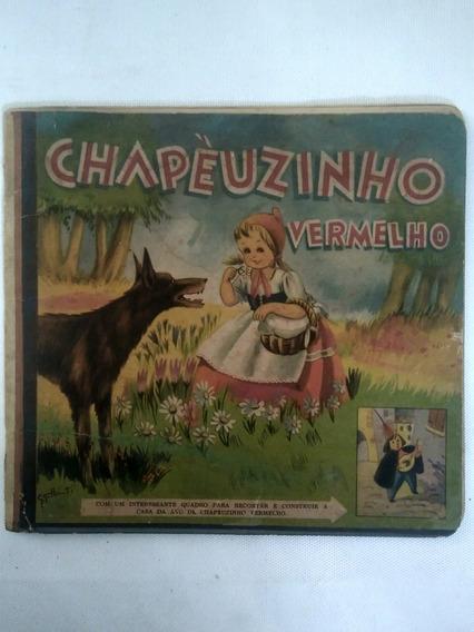 Livro Antigo Chapeuzinho Vermelho Frete Grátis