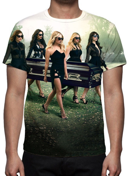 Camiseta Série Pretty Little Liars - Mod 01