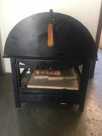 Forno De Pizza De Pedra, A Carvão