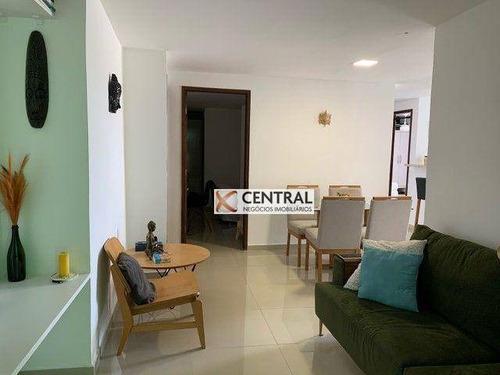 Imagem 1 de 20 de Casa Com 3 Dormitórios À Venda, 130 M² Por R$ 415.000,00 - Jardim Placaford - Salvador/ba - Ca0352