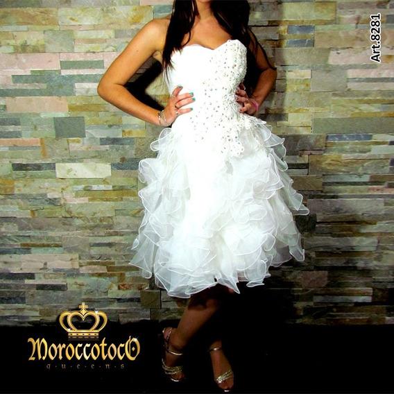 Vestido De 15 Años Novia Fiesta Gala Importado Art 8281