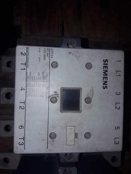 Contactor Simens 300a 220 3tf54 22e 220v