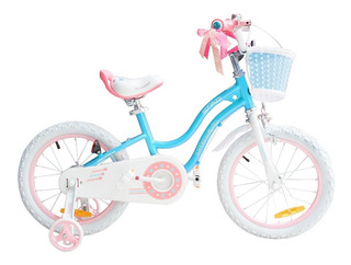 Bicicleta Infantil Royal Baby Mod Star Girl Niña Rodado 16