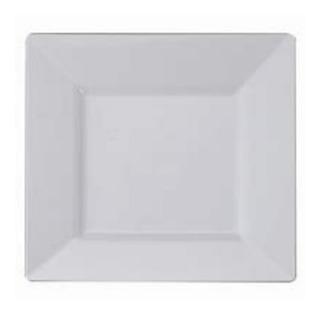 Plato Biodegradable Blanco 6 Pulgadas - 100 Pzs