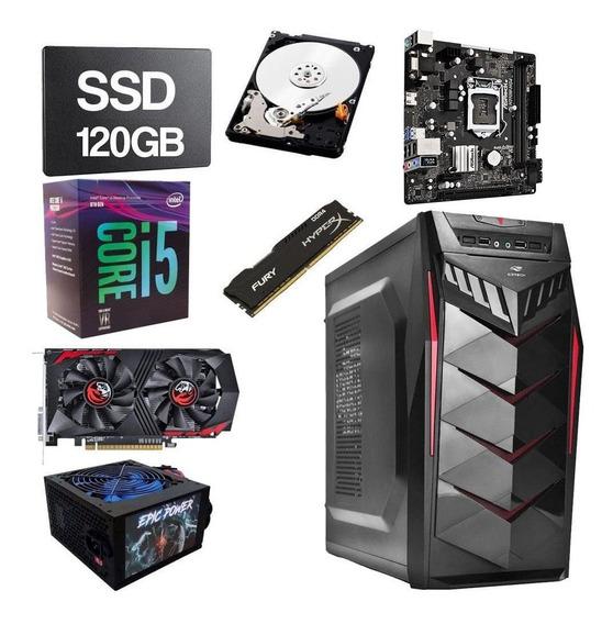 Pc Gamer Intel Core I5 8400 2.8ghz 8gb Ddr4 120gb Hd 1tb 4gb