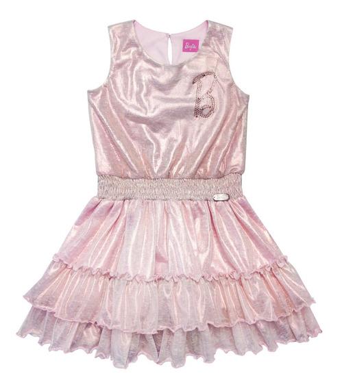 Vestido De Fiesta Dorado (36097)