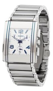 Reloj Rado Hombre Acero Rectangular Cronografo R20591102