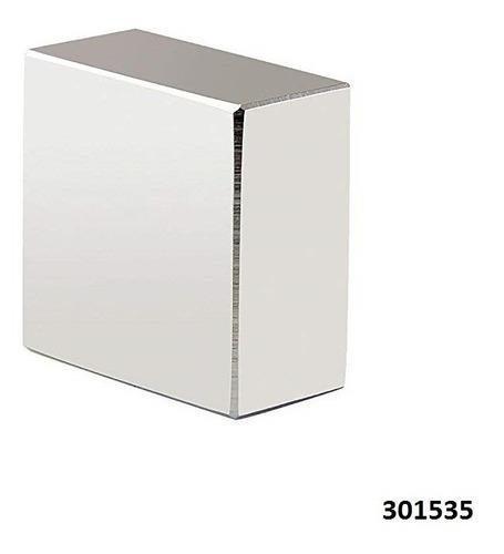 Imán De Bloque De Neodimio N52 40x40x20mm Super Fuerte W01