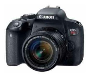 Câmera Cânon T6i Rebel
