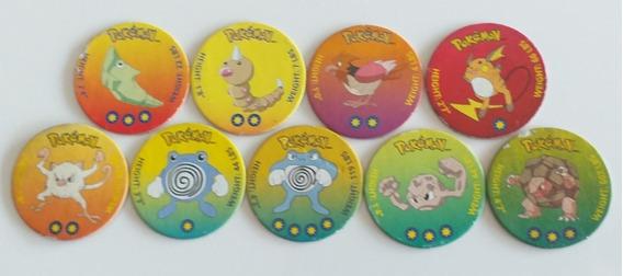 Lote Tazos Pokemon Nintendo Figuritas 1998 1ª Generacion