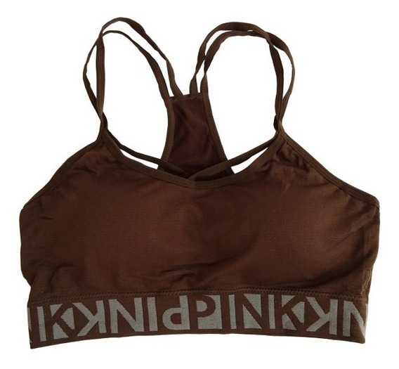 Top Deportivo Moda Juvenil Gym Fitness Pink
