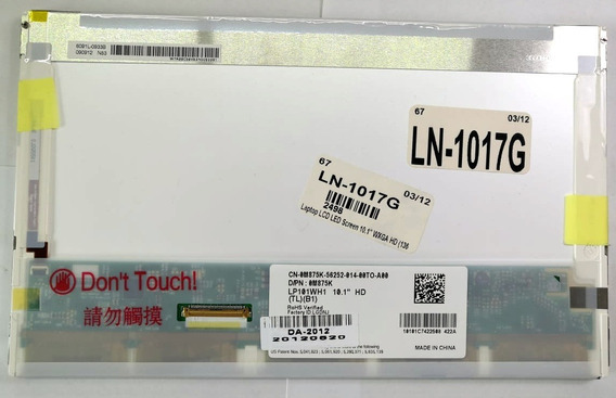 "GATEWAY LT41P07U LAPTOP LED LCD Screen 10.1/"" WXGA HD Bottom Right"