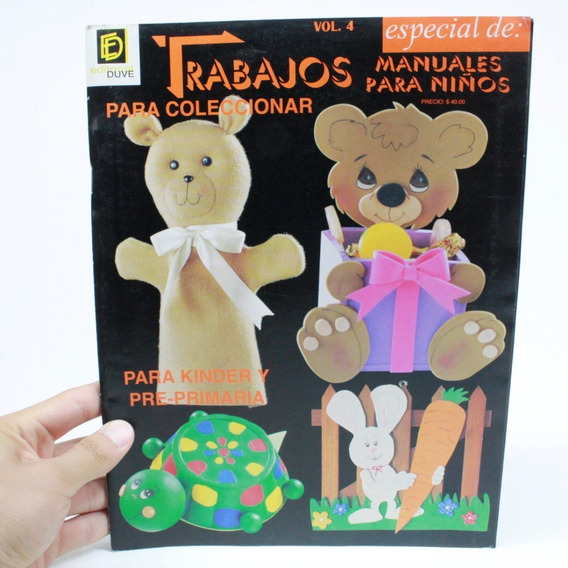 Revista Trabajos Para Coleccionar Manuales Para Niños C1s