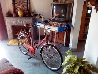 Bicicleta Plegable O Permuto X Agujereadora De Banco