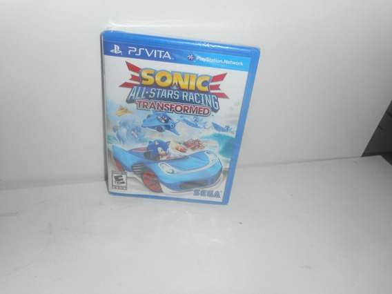 Sonic All-stars Racing Transformed Ps Vita Física Lacrado