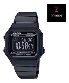 Relógio Casio Vintage All Black B650wb-1bdf