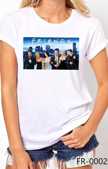 Playera Friends Tv Camiseta Blusa Moda Casual Fr-0002