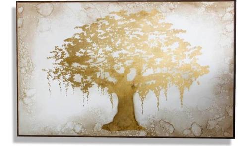 Imagen 1 de 4 de Cuadro Decorativo Sauce Oro Këssa Muebles
