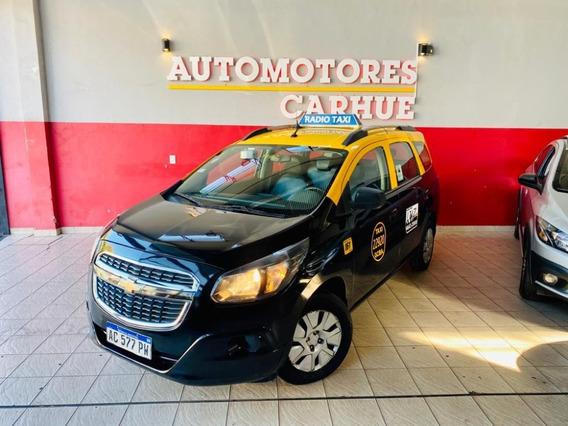 Chevrolet Spin 1.8 Lt Taxi C/licencia 2018 $550.000 Y Cuotas