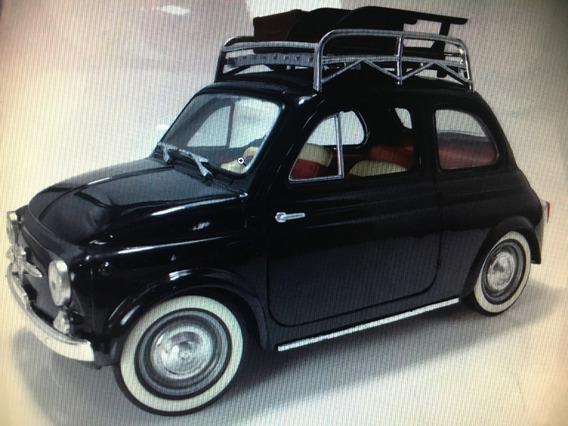 Fiat 500 Solido Escala 1:18