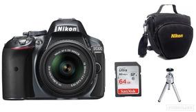 Câmera Nikon D5300 Af-p18-55vr