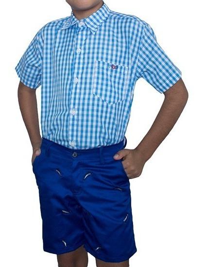 Camisas Manga Corta Niños Mgo
