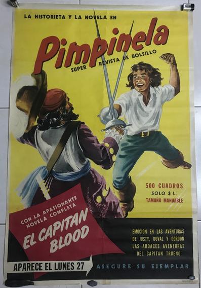 Antiguo Afiche Publicidad Revista Pimpinela Codex 1951