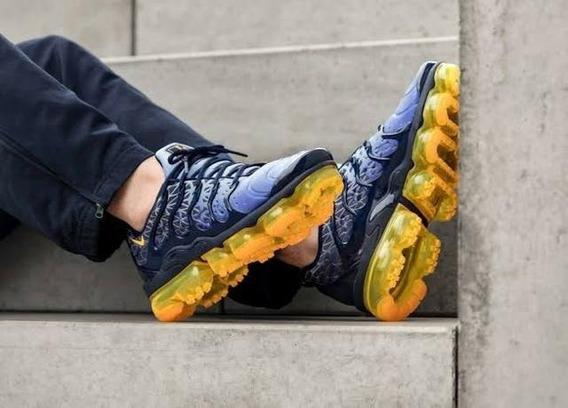 Nike Vapormax Plus Obsidian Laser Orange - Original - Novo