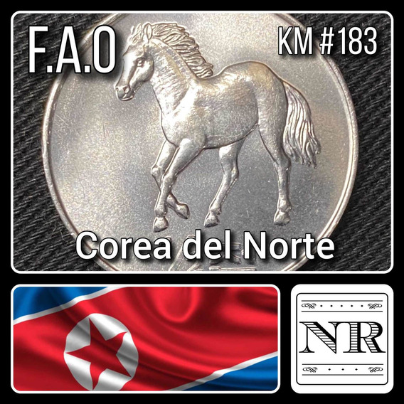 Corea Del Norte - 1/2 Chon - Caballo - Km #183 - F. A. O.