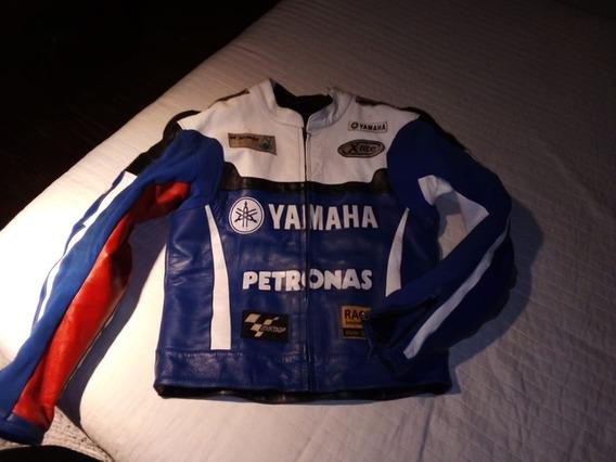 Campera Yamaha De Cuero Con Joroba