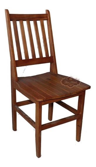 Cadeira Especial Em Madeira De Demolição - Promoção