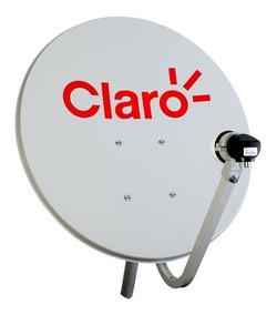 Antena Mini Parabólica Century 0,6m Claro Tv
