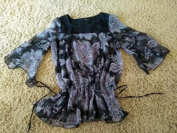 Camisa Camisola De Gasa