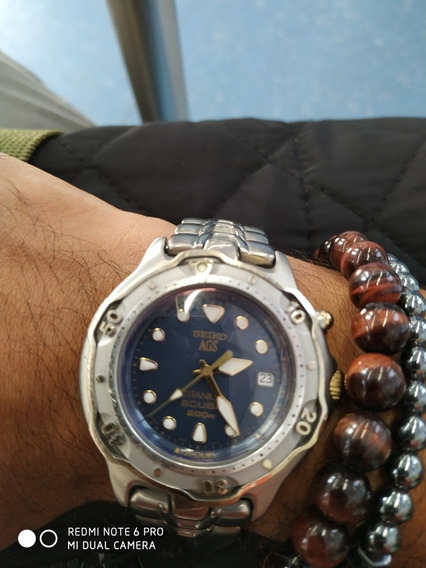 Seiko Scuba Diver Titanium