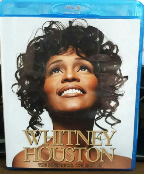 Bluray Duplo Whitney Houston Historical Collection Frete Grá