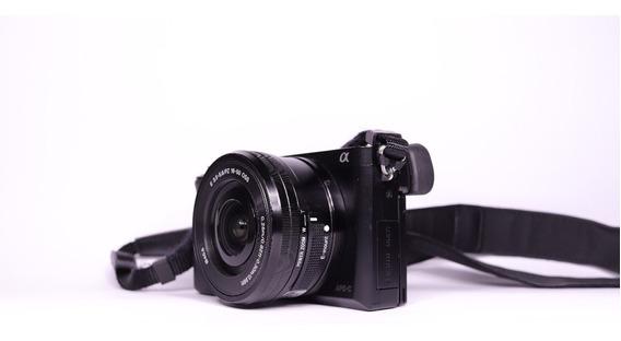 Camera Sony A6000 Lente 16 50mm Usados 1.218 Cliques