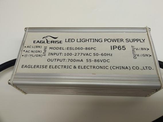 Fonte Eaglcrise Led Lighting Power Suply Esl060-86pc Bivolt