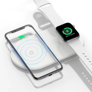 Cargador Inalambrico iPhone Y Apple Watch Qc - Tecnostrike