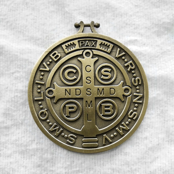 Medallón De San Benito Chico (paquete 4 Piezas)