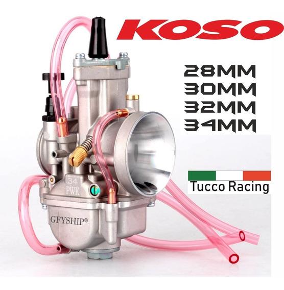 Carburador Koso Guilhotina Competição - 28mm Powerjet
