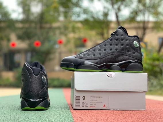 Tenis Nike Air Jordan 13 Retro altitude Negros Originales