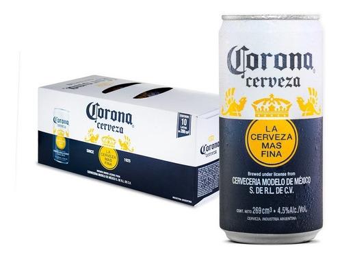 Cerveza Corona 269ml X10