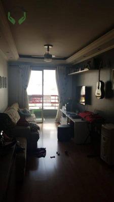 Apartamento Com 2 Dormitórios À Venda, 75 M² Por R$ 400.000 - Vila Osasco - Osasco/sp, Aceita Permuta Com Apto Maior Até R$ 700 Mil - Ap3123