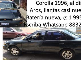 Corolla 96 Aros Lujo, Bateria Nueva, Llantas Como Nuevas