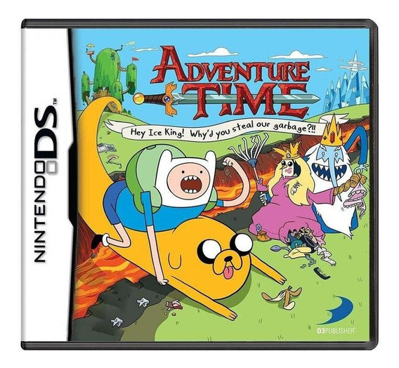 Adventure Time Hey Ice King Whyd You Steal Our Garbage Ds