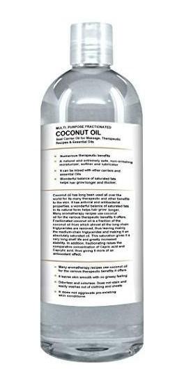 Aceite De Coco Fraccionado 1 Litro