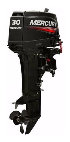 Motor De Popa Mercury 30hp 2 Tempos Partida Elétrica# Novo