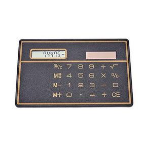 Tarjeta De Crédito Slim Mini Solares Calculadoras De...